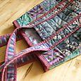 Knitting sack (cool colorway)