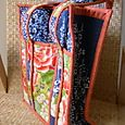 Repurposed Kimono Bag