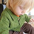 Cardigan for the boy