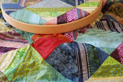 D'anjou's baby quilt