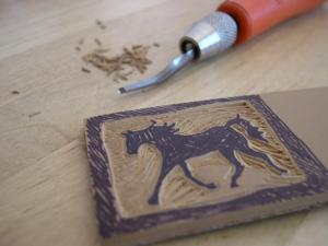 Horsey stamp